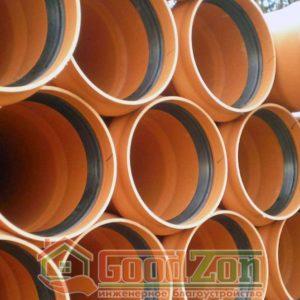 Трубы для наружной канализации 250 мм D